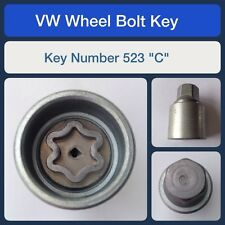 "Genuine VW Locking Wheel Bolt / Nut Key 523 ""C"""