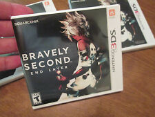 Bravely Second: End Layer Nintendo 3DS VIDEOGAME BRAND NEW FACTORY SEALED US