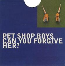 PET SHOP BOYS Can You Forgive Her 1993 UK 8-track 2-CD single set