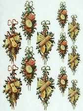 Ricepaper/Decoupage Papel, hojas de las decoraciones colgantes de Scrapbooking