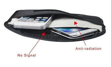 Anti hackable, anti radiation cell phone pouch - guard against RFID spying!
