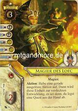 Warhammer Invasion - 1x Magier des Loec  #090 - Omen des Unheils