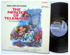 THE HEROES OF TELEMARK original soundtrack LP Malcolm Henry Arnold 1965 OST