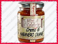 Crema di Habanero Orange in Olio Peperoncino Piccantissimo Estremo 90g