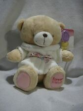 Forever Friends plush 9inch teddy wearing dressing gown