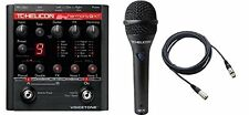 TC Helicon*Voicetone Harmony-G XT Guitar+Vocal Pedal+MP75 Mic+Cable*FREESHIP NEW