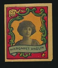 1911 T332 Helmar Cigarettes ACTRESS STAMPS -Margaret Anglin (fancy border)