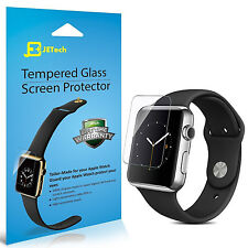 JETech 0875 2-Pack 38mm Tempered Glass Apple Watch Screen Protector Film