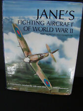 JANE'S FIGHTING AIRCRAFT OF WORLD WAR WWII HARDCOVER BOOK~OVER 1000 ILLUSTRATION