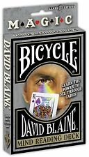 MIND READING DECK BY DAVID BLAINE BRAND NEW SEALED