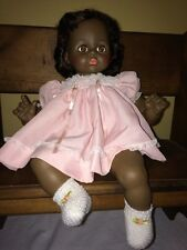 """Vintage Madame Alexander African American Pussy Cat Doll 1977 19"""""""