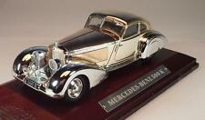 Atlas 1/43 Silver Cars Mercedes Benz 500 K  in Plexi Box #306
