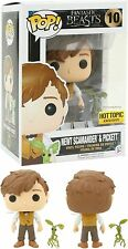 Hot Topic Funko Pop! NEWT AND PICKETT #10 Fantastic Beasts Where To Find Them