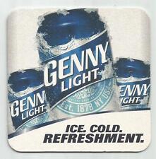 16  Genesee  Genny Light   Beer Coasters