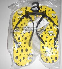 NEW women's size 9 Sponge Bob Square Pants flip flops