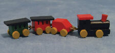 Wooden Train, Doll House Miniature Nursery Child's , 1.12th Scale