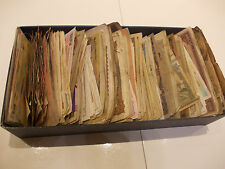 1000 PIECES WORLDWIDE BANKNOTES MISTERY BOX!FLEE MARKET FIND!HUGE PILE!N:1