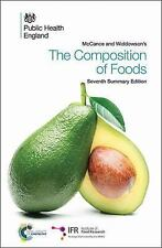 McCance and Widdowson's the Composition of Foods : Seventh Summary Edition by...