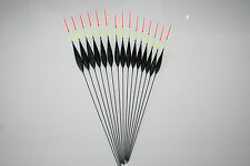 HAND MADE POLE FISHING FLOATS - RIZOV RF105 - 15 PCS. - 3x0.4/0.6/0.8/1/1.25 GR.