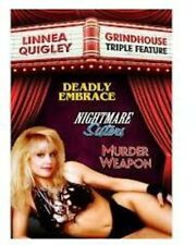 Linnea Quigley Grindhouse Triple Feature (2013, DVD NEUF)