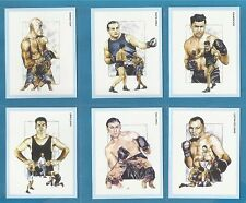 cigarette/trade cards - HEAVYWEIGHT BOXING CHAMPIONS - Full mint set.
