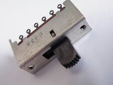 4P2W 4 Pole 2 Way Miniature Slide Switch Model Railway Hobby SS1-024 EX23