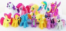 MY LITTLE PONY Figure Set PVC TOY Cup Cake Topper TWILIGHT SPARKLE Rainbow Dash!