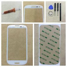 Samsung Galaxy S3 Screen Replacement Front Glass Lens Kit White Tools Uv Glue