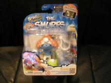 SWAPPZ - THE SMURFS - COLLECTIBLE CHARACTER WITH BACKPACK CLIP - BRAINY - NEW