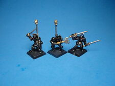 Heartbreaker Hobbies Chaos Knights x3 out of production metal miniature gb