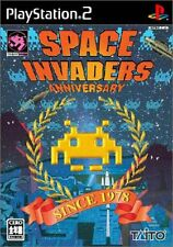Used PS2 Space Invaders Anniversary Japan Import (Free Shipping)
