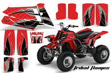 AMR Racing Yamaha Banshee 350 Decal Graphic Kit ATV Quad Wrap  87-05 TRIBAL BLK