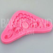 Baroque Vintage Pearl Flower Burst Silicone Mould Cake Fondant Sugarcraft Topper