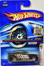 HOT WHEELS 2006 FIRST EDITIONS AMG-MERCEDES CLK DTM #016 BLACK FACTORY SEALED