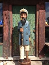 John Gallagher Carved Wooden Sea Captain 6 ft. Cigar Store Indian ready to ship