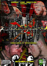 CZW Wrestling: Cage of Death 11 DVD, Combat Zone, Eddie Kingston, Jon Moxley