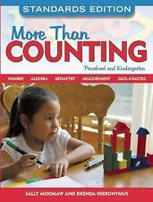 More Than Counting Math Activities for Preschool and Kindergarten Standards Ed.