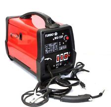 DUAL MIG WELDER MIG135P 130A GAS /NO GAS MAG FLUX CORE WELDING MACHINE Wire Feed