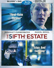 NEW The Fifth Estate (Blu-ray/ DVD, 2014, 2-Disc Set, Includes Digital Copy)