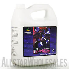 Advanced Nutrients pH Down 4L - Water Adjuster Additive Soil Acidity, 4 Liters