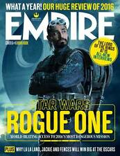 STAR WARS Rogue One Empire UK magazine January 2017 - Bodhi Rook (Riz Ahmed)