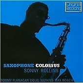 CD SONNY ROLLINS SAXOPHONE COLOSSUS ST. THOMAS MORITAT MACK THE KNIFE BLUE 7