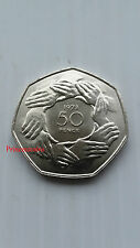 1973*UNC*GB ACCESSION EEC 50P FIFTY PENCE COIN-LARGE SIZE