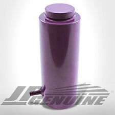 RADIATOR COOLANT OVERFLOW RESERVOIR CATCH TANK PURPLE - UNIVERSAL