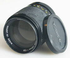 YASHICA 135MM F/2.8 DSB LENS WITH ORIGINAL FRONT CAP