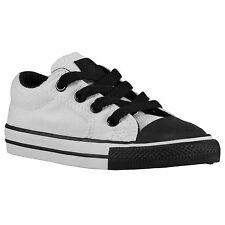 CONVERSE Chuck Taylor Ill OX Toddler Shoes sz 10 Optical White Black All Star CT