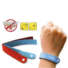 5X Anti Mosquito Bug Repellent Wrist Band Bracelet Insect Nets Bug Lock Useful