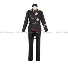 APH Hetalia: Axis Powers Prussia Gilbert SS Uniform COS Clothing Cosplay Costume
