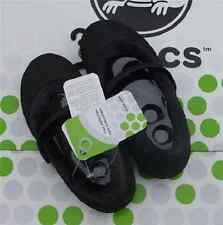 CROCS NANOOK MAMMOTH KEELEY SHAYNA MARY JANE SLIP ON SHOE~Black~J 1 W 3~NWT