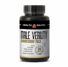 Male Enhancers - MALE VERILITY pills with Maca,Tribulus,Cola seed 1 Bottle